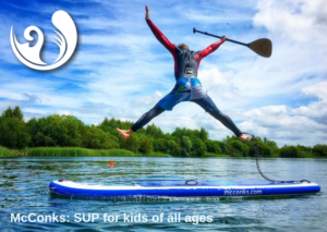 Proudly sponsored by McConks SUP